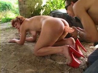 Outdoor mature anal