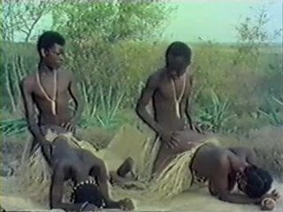 African Tribe Fuck - Naked Wresting