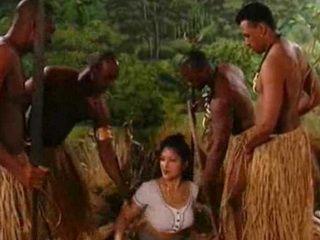 Movie sex samples jungle Interracial